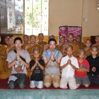 カンボジア僧院