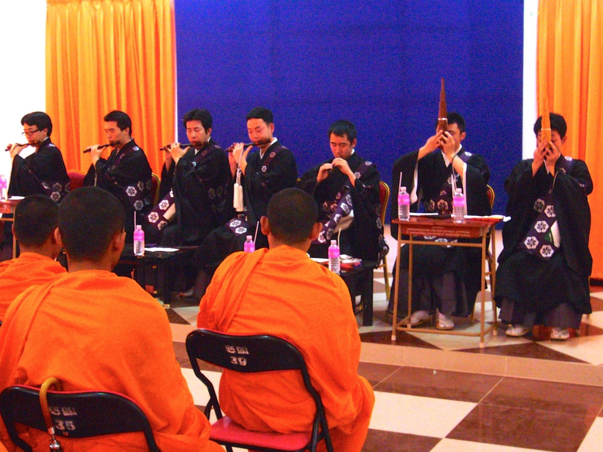 無理をしない程度に、自分たちができる範囲で、継続して行える活動をブログJSRの仏教交流。